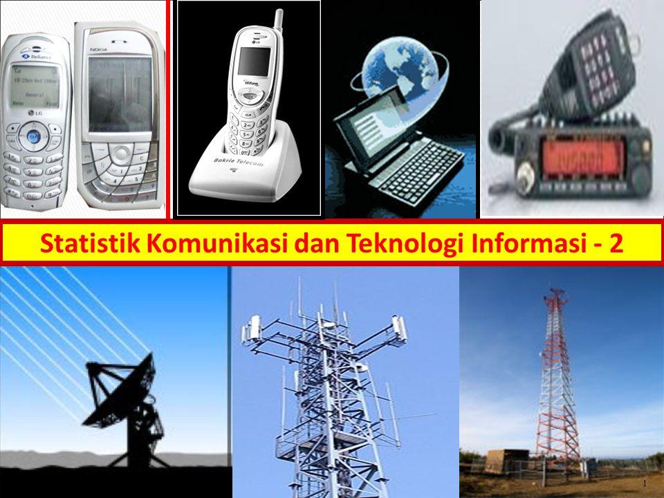 1 Statistik Komunikasi dan Teknologi Informasi - 2