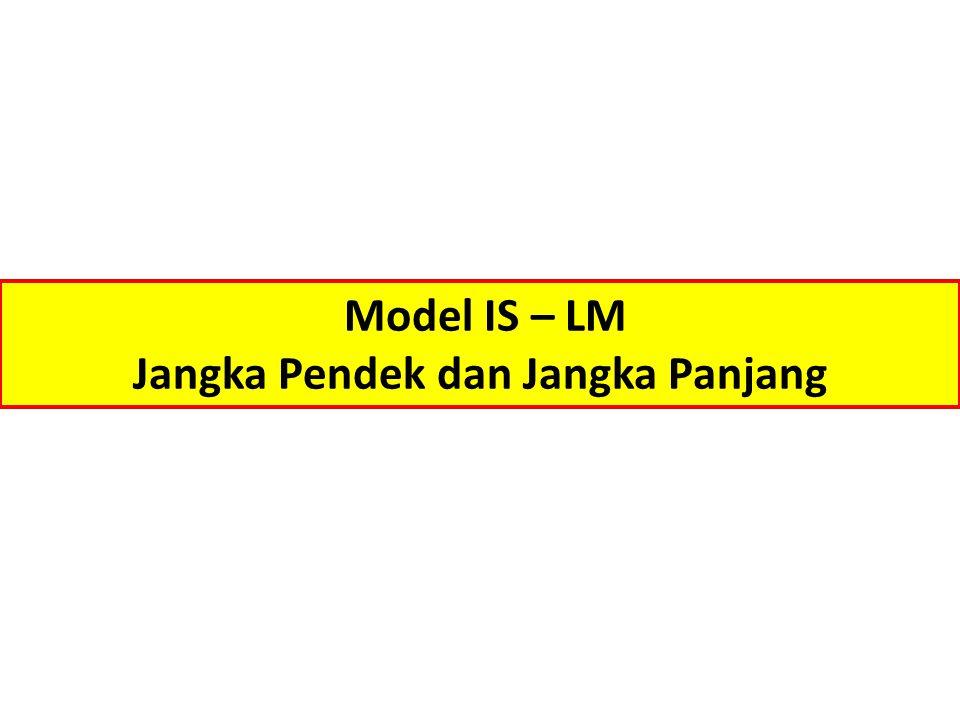 Model IS – LM Jangka Pendek dan Jangka Panjang