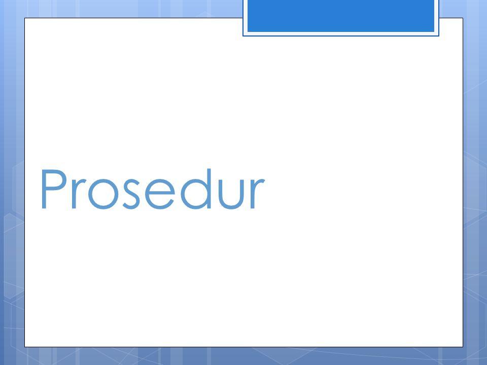 Prosedur