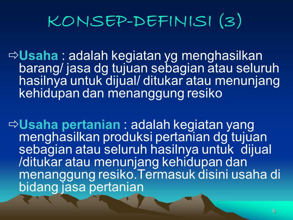 27 PENGGUNAAN KBLI (1) Jenis Kegiatan/ Usaha Utama, Kegiatan Utama adalah kegiatan usaha yang aslinya (nature) berdasarkan ijin usaha.