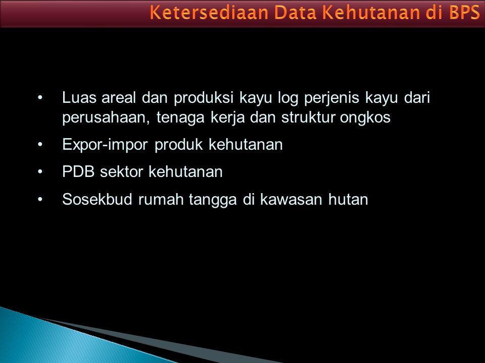 Lebih meningkatkan koordinasi antara BPS, Kementrian Kehutanan, dan dinas kehutanan dalam rangka penyedia data/ informasi kehutanan Meningkatkan partisipasi responden (perusahaan), berhubungan dengan konten pengisian kuesioner dan ketepatan waktu
