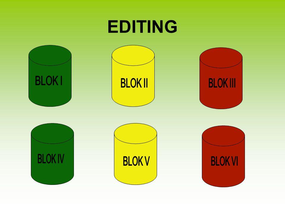Blok I Pengenalan Tempat Blok ini digunakan untuk mendapatkan keterangan tentang wilayah administrasi yang dicatat.