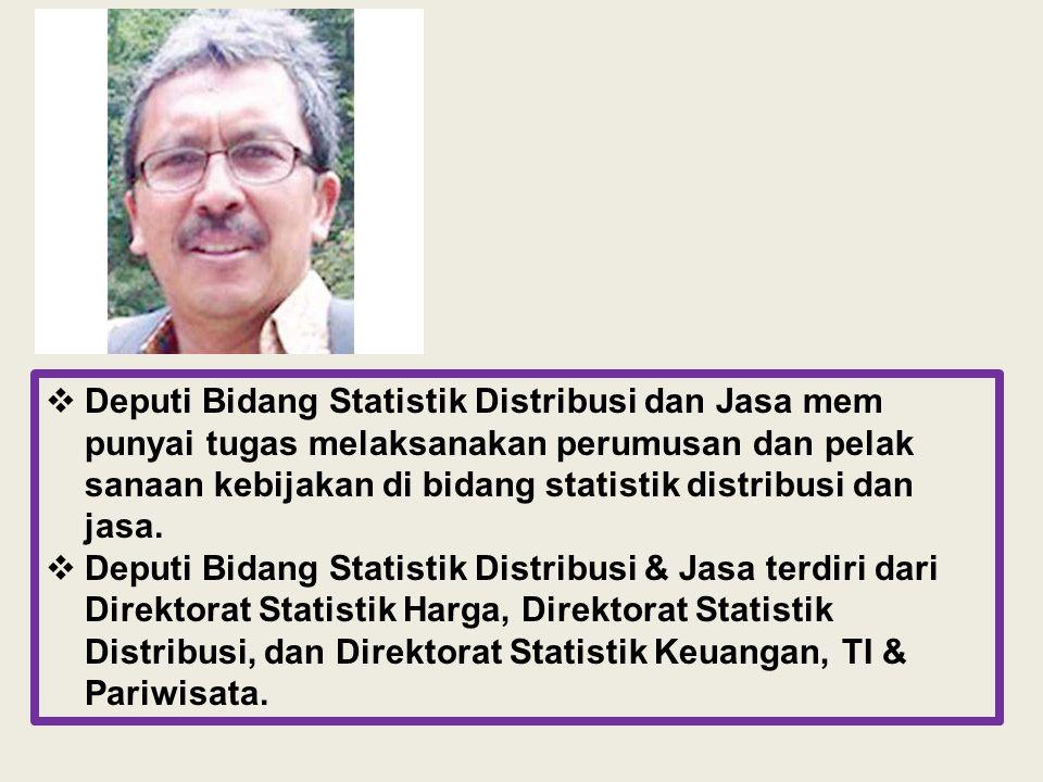 Kepala BPS Dr.Suryamin Sestama Drs. Eri Hastoto, MSi Pusdiklat Supriyanto, SE.MA STIS Dr.