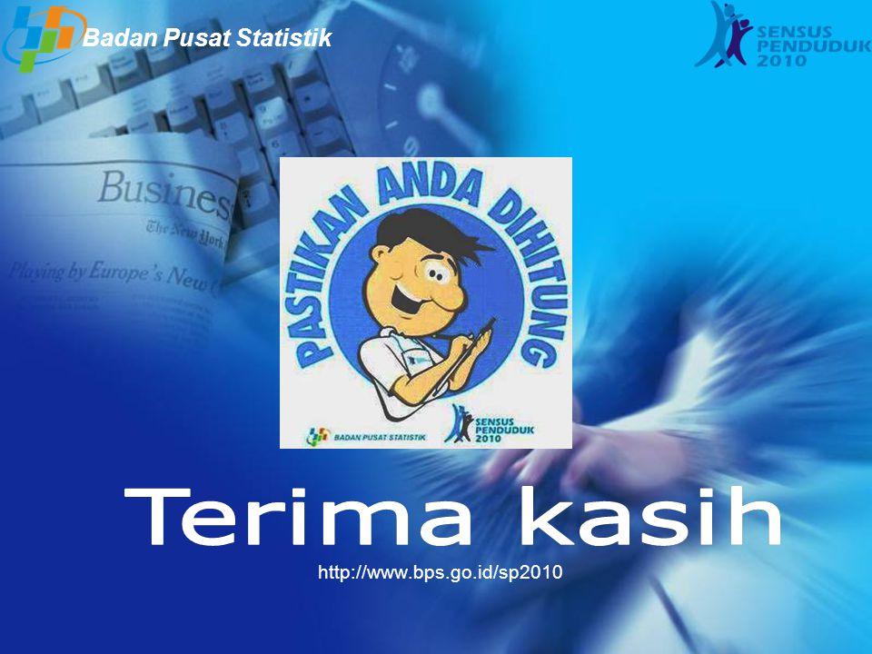 http://www.bps.go.id/sp2010 Badan Pusat Statistik