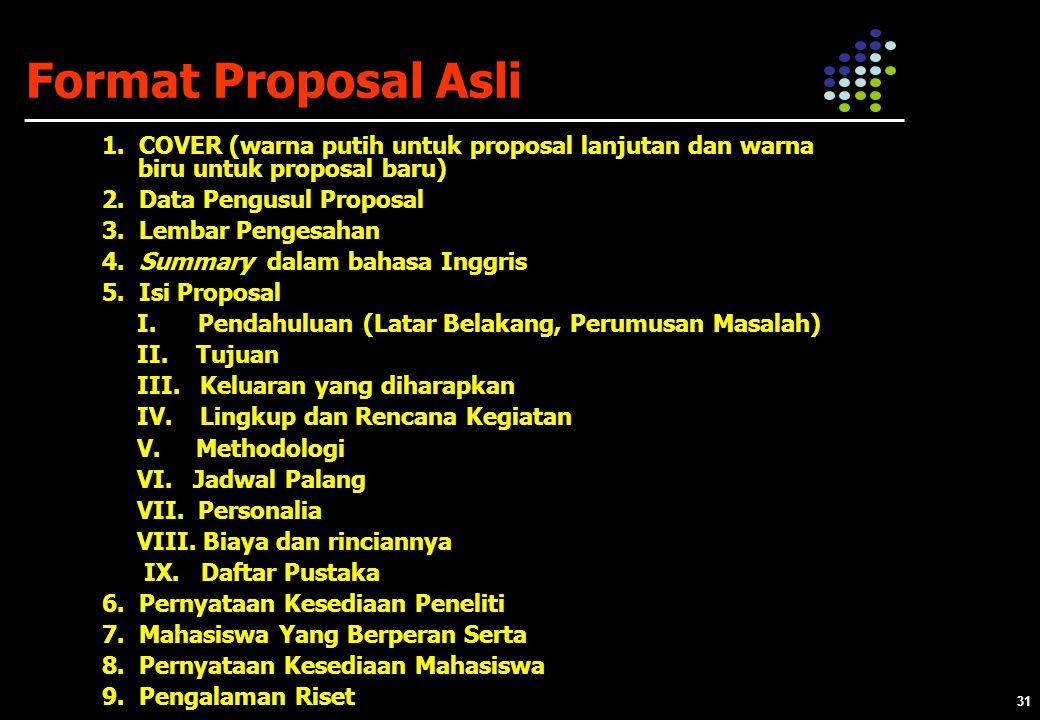 31 Format Proposal Asli 1.