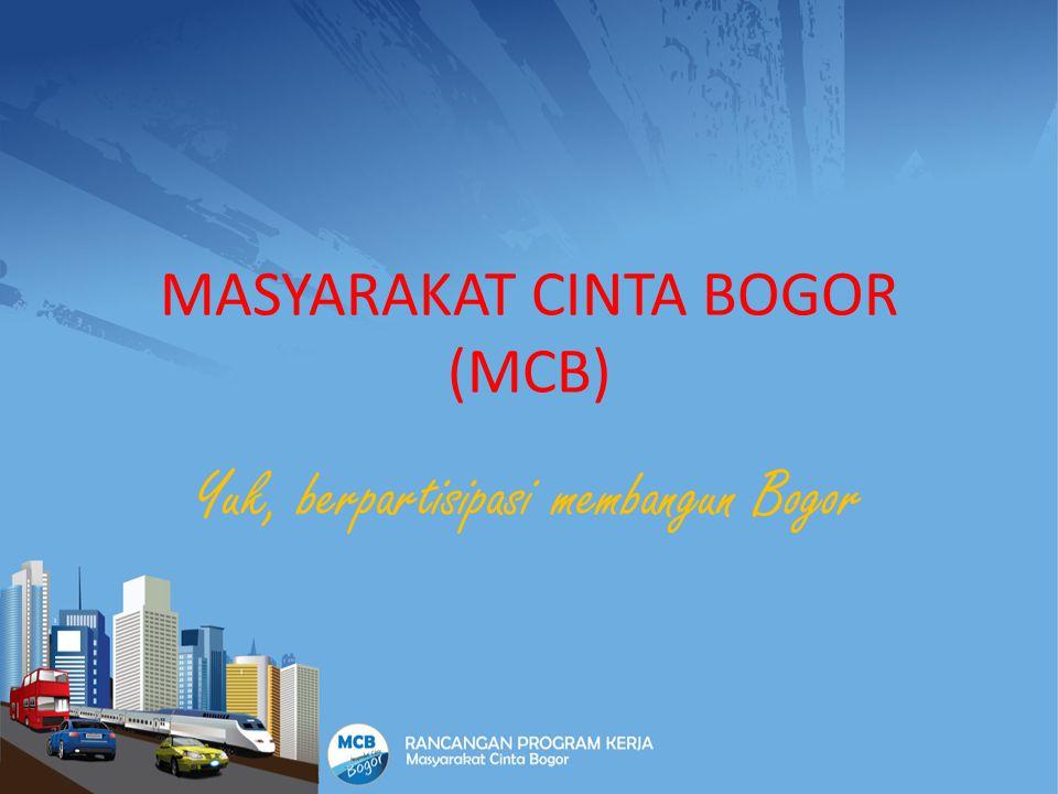 MASYARAKAT CINTA BOGOR (MCB) Yuk, berpartisipasi membangun Bogor