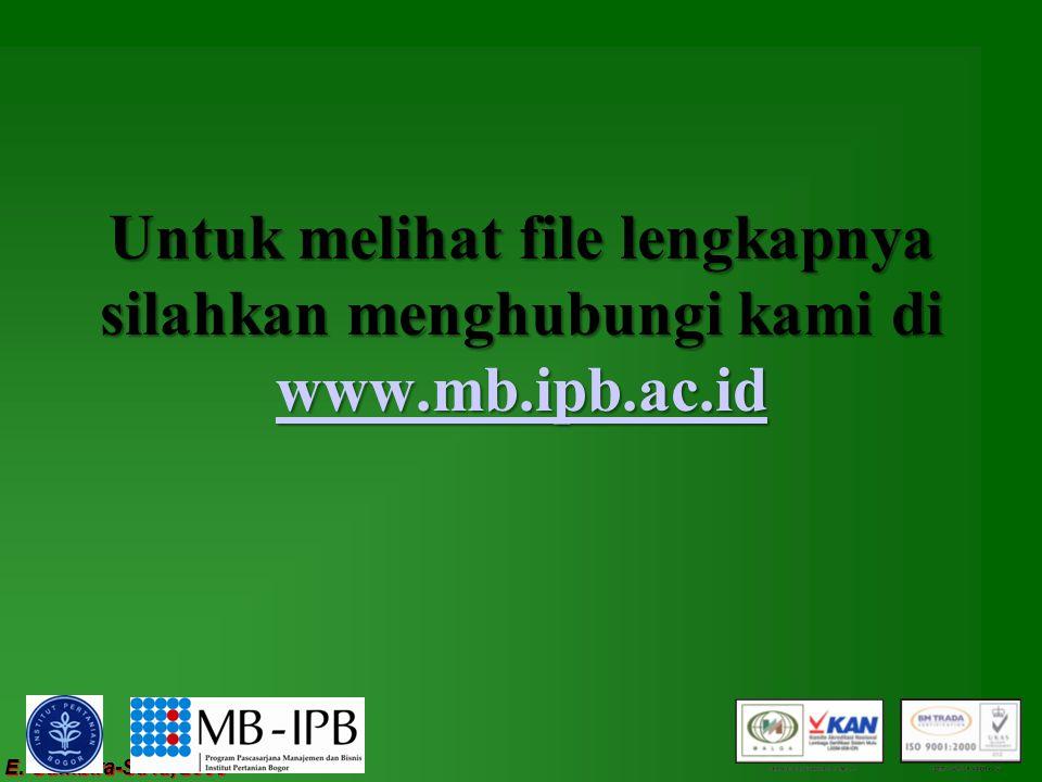 E. Gumbira-Sa'id, 2008 Untuk melihat file lengkapnya silahkan menghubungi kami di www.mb.ipb.ac.id www.mb.ipb.ac.id