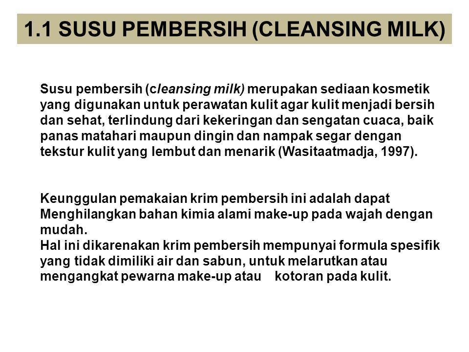 Bahan-bahan penyusun yang digunakan dalam formulasi sabun mandi cair terdiri atas : 1.