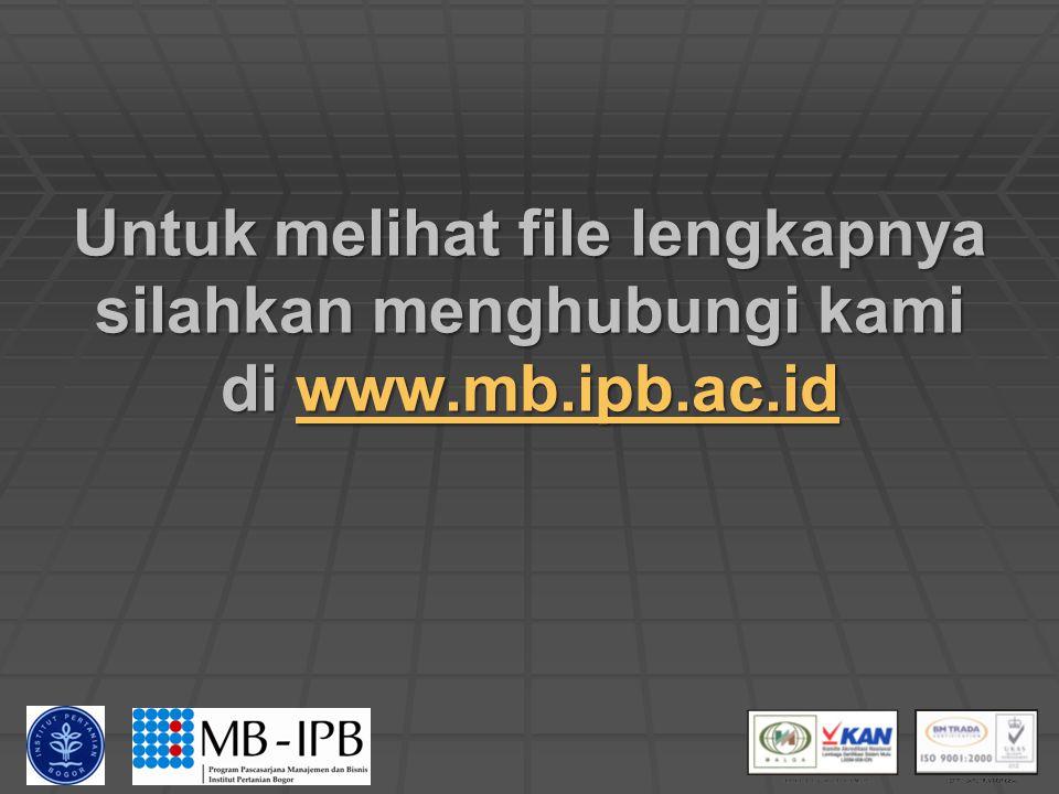 9/14/2014MSDM - MB IPB 094 Produktivitas (Rasio output dan input suatu proses produksi) Input terdiri dari: 1. Biaya tenaga kerja 2. Biaya produksi 3.