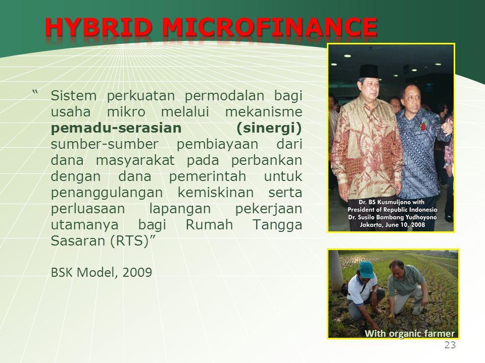 """Sistem perkuatan permodalan bagi usaha mikro melalui mekanisme pemadu-serasian (sinergi) sumber-sumber pembiayaan dari dana masyarakat pada perbankan"