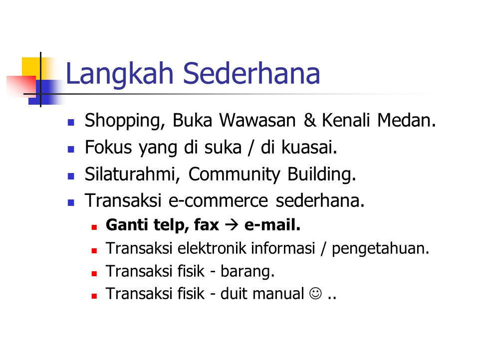 E-Commerce sederhana