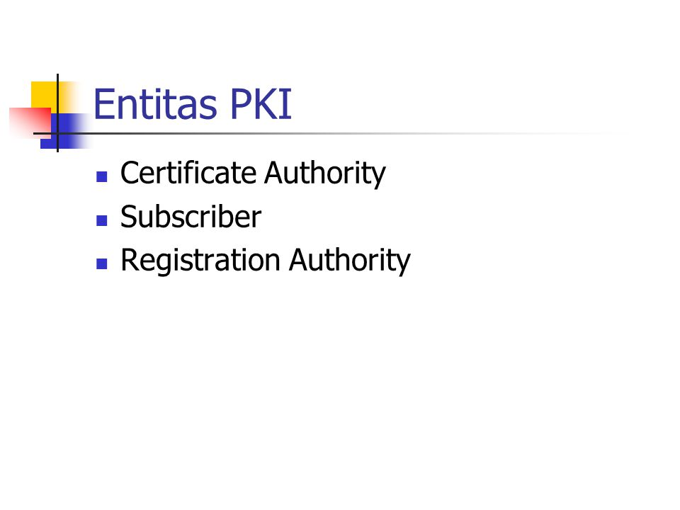Manajemen PKI