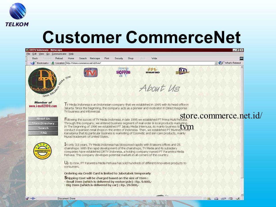 Customer CommerceNet www.kompas.com/ webstore