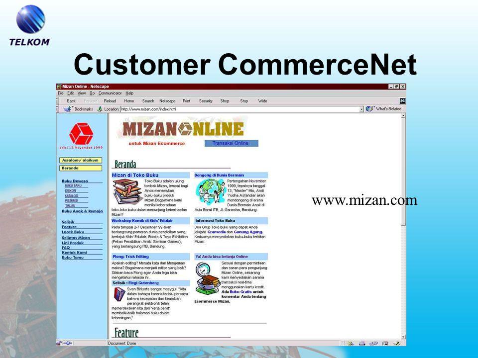 Customer CommerceNet store.commerce.net.id/ tvm
