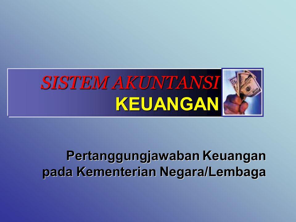ORGANISASI SAK Tingkat Kementerian Negara/Lembaga Unit Akuntansi Pengguna Anggaran (UAPA) Tingkat Eselon 1 Unit Akuntansi Pembantu Pengguna Anggaran-Eselon 1 (UAPPA-E1) Tingkat Wilayah Unit Akuntansi Pembantu Pengguna Anggaran-Wilayah (UAPPA-W) Tingkat Satuan Kerja Unit Akuntansi Kuasa Pengguna Anggaran (UAKPA)