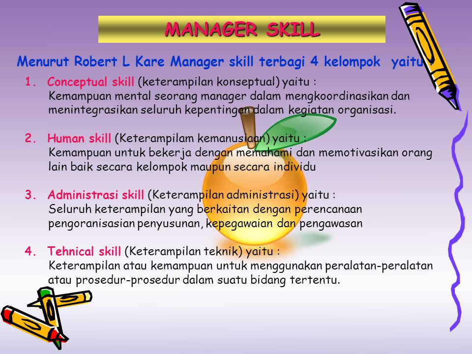 Manager fungsional adalah : Manager yang bertanggung jawab atas satu seruan aktifitas organisasi Manager Umum adalah : Manager yang membawahi manager fungsional dan bertanggung jawab kepada keseluruhan aktifitas organisasi