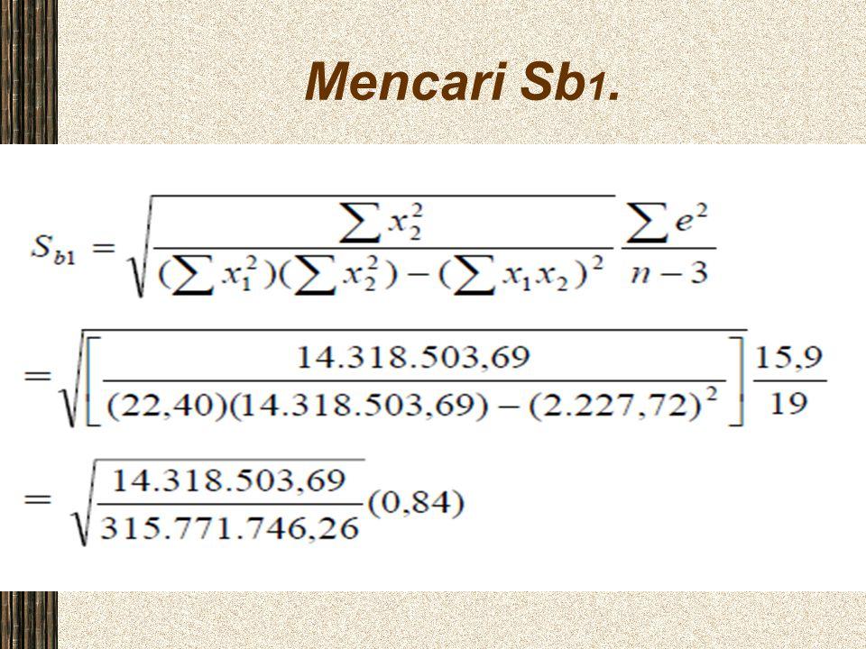 Mencari Sb 1.