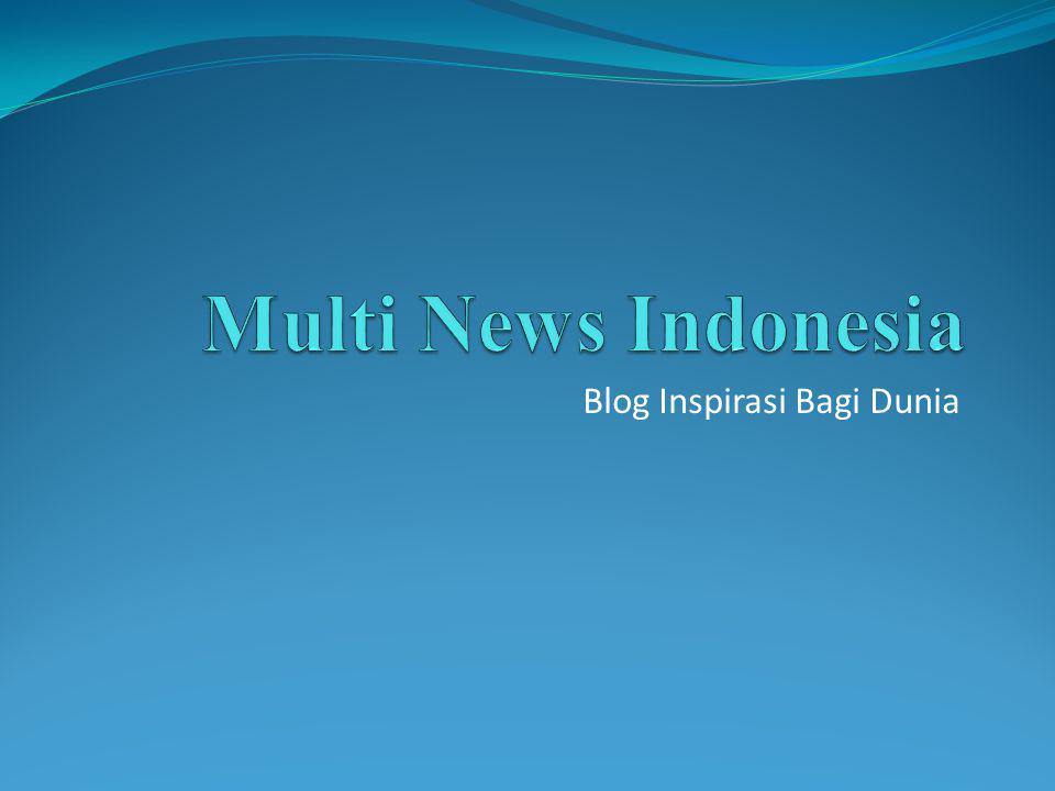 Blog Inspirasi Bagi Dunia
