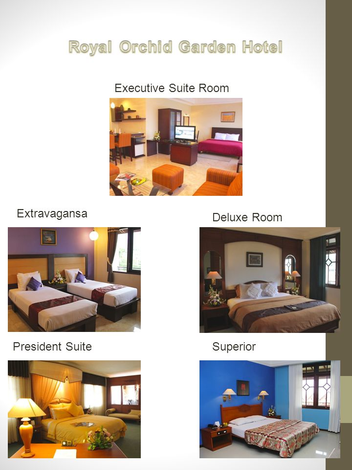 Extravagansa Deluxe Room President SuiteSuperior Executive Suite Room