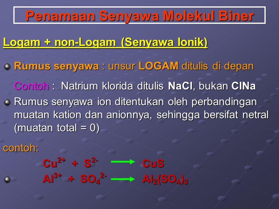 Coba : Hitunglah bilangan oksidasi dari logam Cu dalam senyawa CuCl dan CuO! Hitunglah bilangan oksidasi unsur N pada ion NH 4 +.