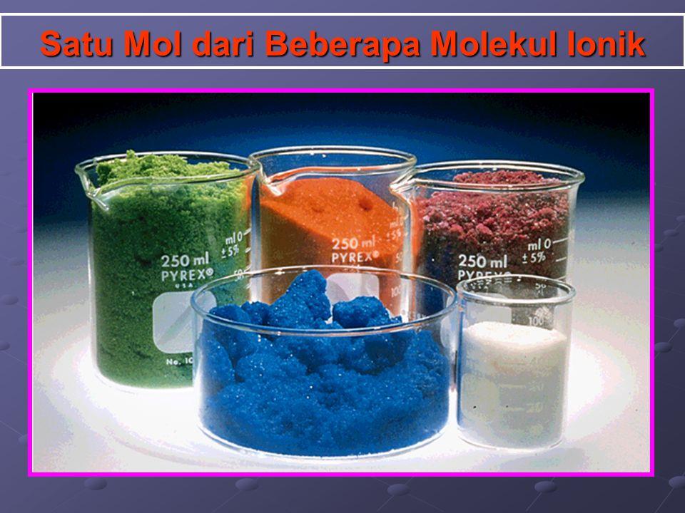 Massa Molar (mr) Massa Molar adalah merupakan jumlah seluruh massa atom pembentuk molekul. atau Jumlah seluruh massa atom yang tertulis dalam formula