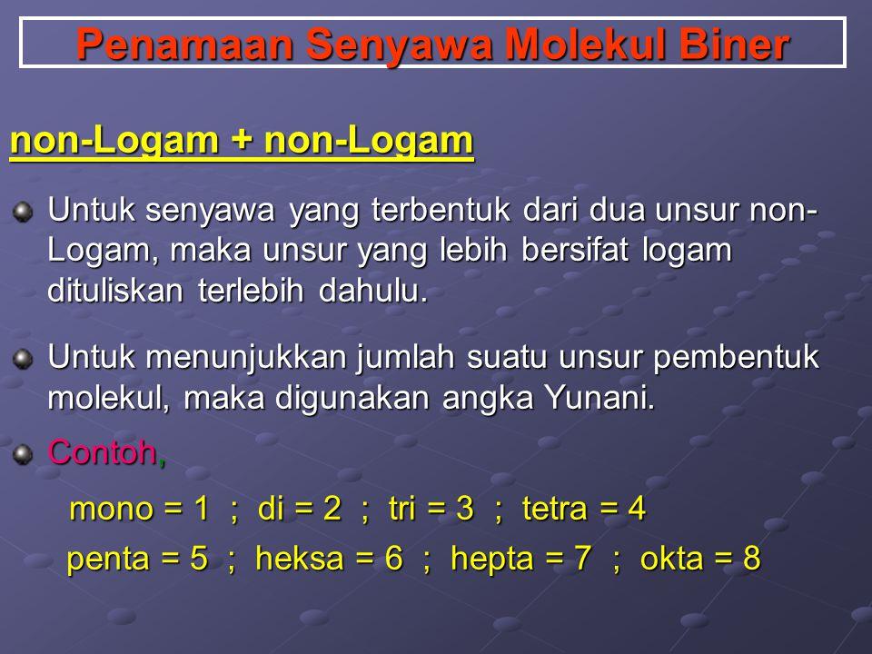 Massa Molar (mr) Massa Molar adalah merupakan jumlah seluruh massa atom pembentuk molekul.