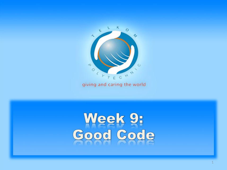 Apa tanggapan orang mengenai Good Code .