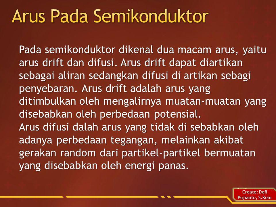 Semikonduktor murni adalah suatu bahan semikonduktor yang tidak di campuri atau di kotori dengan bahan lain.
