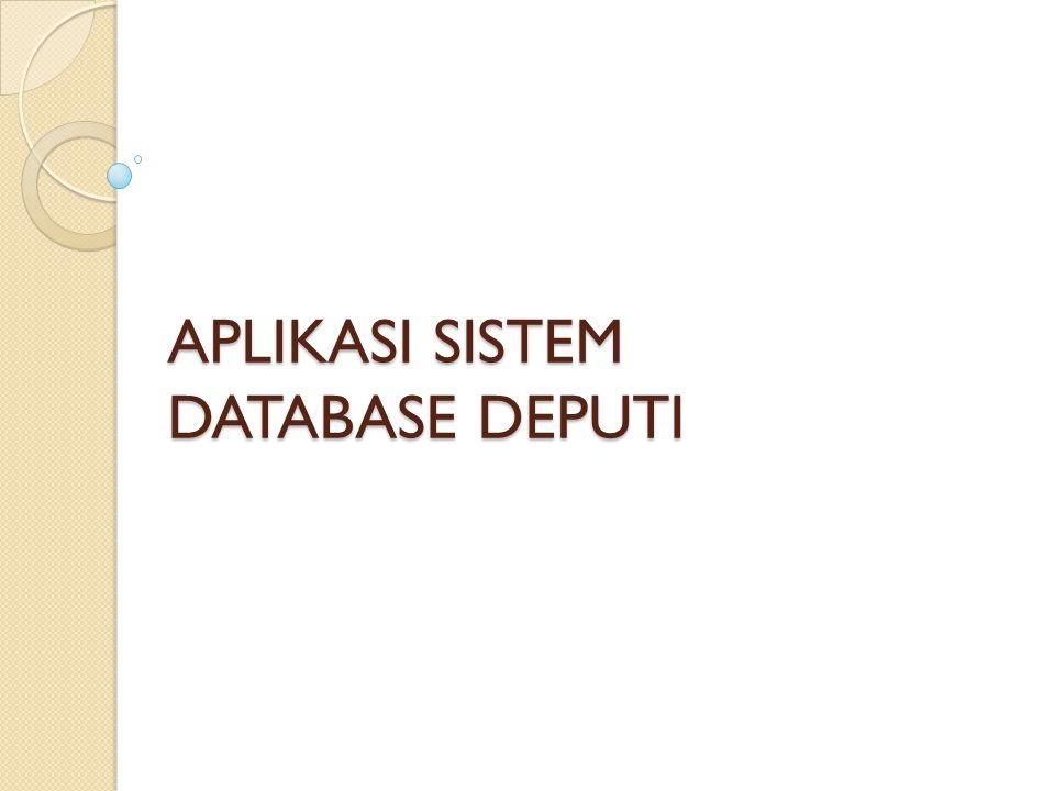 2 | Pendahuluan Latar Belakang Peran data dan sistem database sangat penting dalam mendukung pelaksanaan tugas pokok dan fungsi Deputi Bidang Pendanaan Pembangunan; Peran data dan sistem database sangat penting dalam mendukung pelaksanaan tugas pokok dan fungsi Deputi Bidang Pendanaan Pembangunan; Data yang akurat serta sistem database yang menyediakan kemudahan dalam pengelolaan dan penyediaan data memberikan pengaruh signifikan terhadap pengambilan kebijakan dalam pendanaan pembangunan; Data yang akurat serta sistem database yang menyediakan kemudahan dalam pengelolaan dan penyediaan data memberikan pengaruh signifikan terhadap pengambilan kebijakan dalam pendanaan pembangunan; Selama ini, data tersebut tersebar dalam sistem database masing- masing Direktorat di Kedeputian Pendanaan Pembangunan; Selama ini, data tersebut tersebar dalam sistem database masing- masing Direktorat di Kedeputian Pendanaan Pembangunan; Perlu dilakukan upaya pengembangan sistem database terintegrasi sehingga meningkatkan efektifitas dan efisiensi pengelolaan data di lingkungan Deputi Pendanaan; Perlu dilakukan upaya pengembangan sistem database terintegrasi sehingga meningkatkan efektifitas dan efisiensi pengelolaan data di lingkungan Deputi Pendanaan;