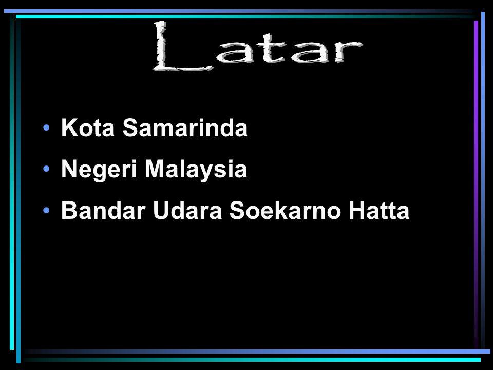 Kota Samarinda Negeri Malaysia Bandar Udara Soekarno Hatta