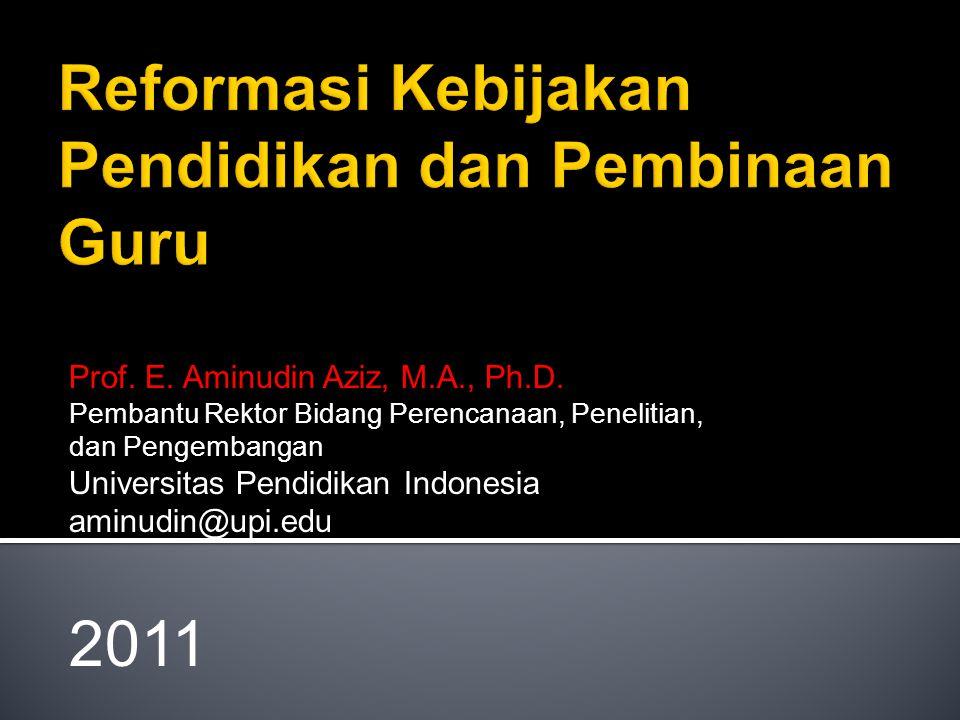 Prof.E. Aminudin Aziz, M.A., Ph.D.