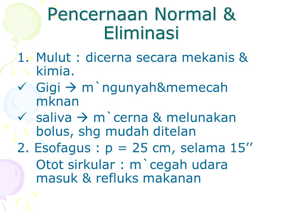 II.Physical Examination Abdomen : Distensi, simetris, gerakan peristaltik adanya massa pada perut.