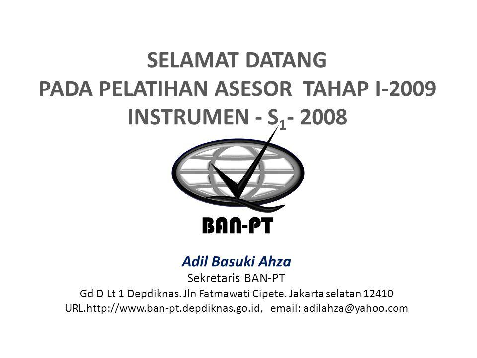 9/14/2014 BAN-PT NATIONAL ACCREDITATION AGENCY FOR HIGHER EDUCATION SETIAP PS/PT:  MENJADI LEARNING ORGANIZATION (LO) !.