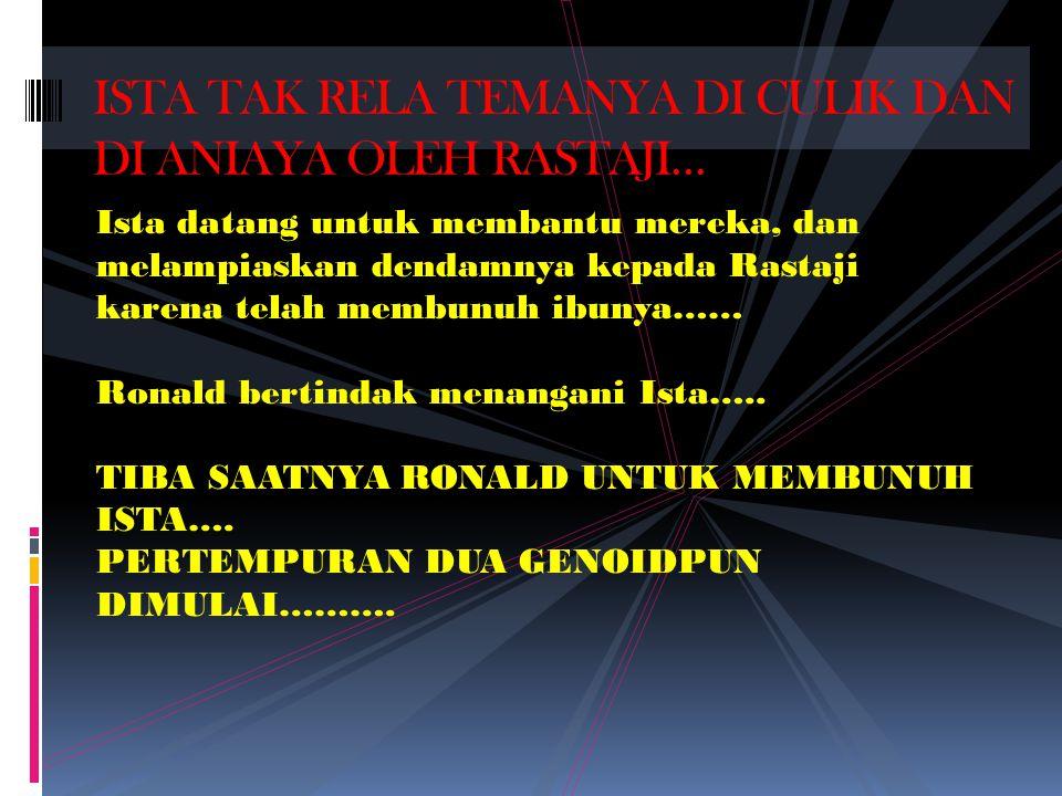 RONALD dengan mudah mencari anak Sudarmadi, dia berkesimpulan DESY……… Suatu saat Desy di culik ke gedung kosong Gianta Tower di Kuningan, Jakarta…..Tapi, di culik juga dengan Viana….