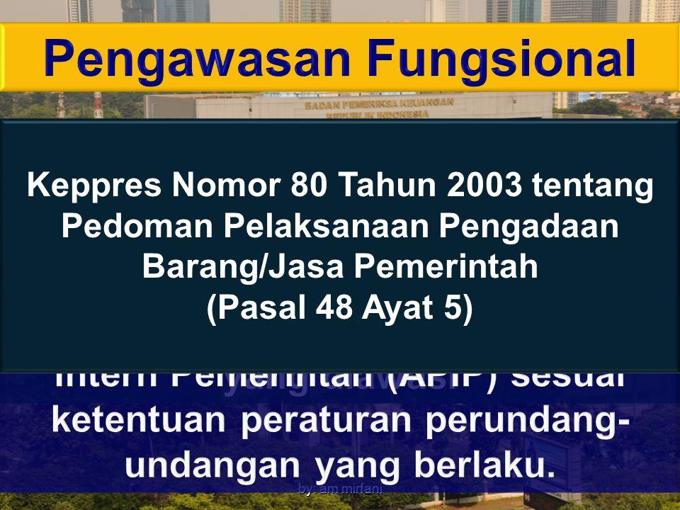 by: am mirfani Keppres Nomor 80 Tahun 2003 tentang Pedoman Pelaksanaan Pengadaan Barang/Jasa Pemerintah (Pasal 48 Ayat 5)