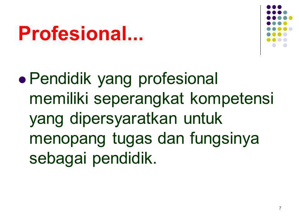 Profesional...