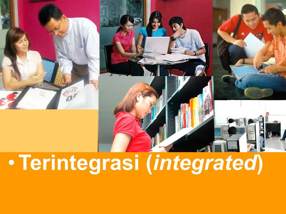Terintegrasi (integrated)