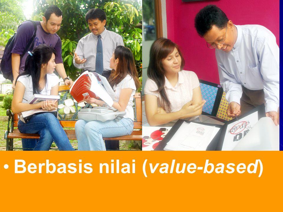 Berbasis nilai (value-based)