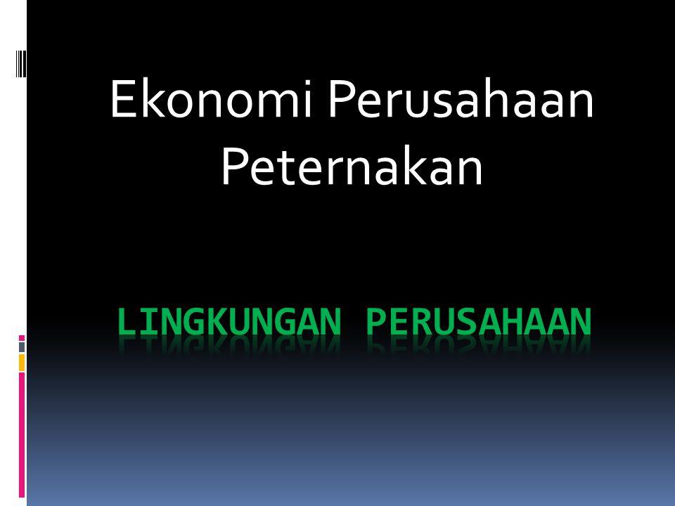Ekonomi Perusahaan Peternakan