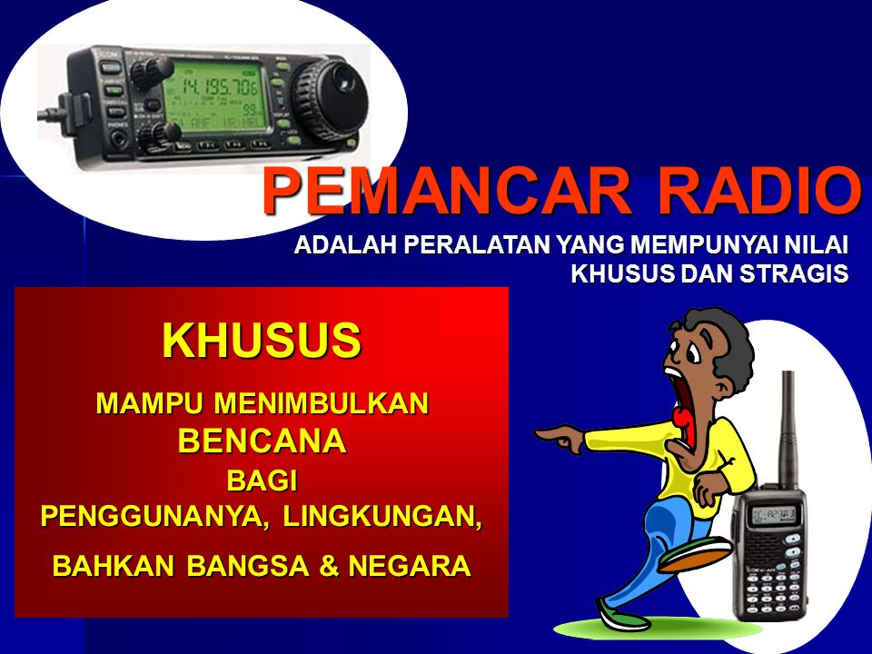 FREQUENCY & SIFATNYA VERY LOW FREQUENCY 3 s/d 30 Hz LOW FREQUENCY 30 s/d 300 Hz MEDIUM FREQUENCY300 s/d 3.000 Hz HIGH FREQUENCY 3s/d 30 MHz VERY HIGH FREQUENCY 30s/d 300 MHz ULTRA HIGH FREQUENCY300s/d 3.000 MHz SUPER HIGH FREQUENCY 3 s/d 30 GHz EXTREMELY HIGH FREQUENCY 30 s/d 300 GHz GROUND WAVE SURFACE WAVE SPACE WAVE REFLECTED WAVE DIRECT WAVE