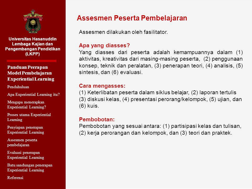 Universitas Hasanuddin Lembaga Kajian dan Pengembangan Pendidikan (LKPP) Panduan Penerapan Model Pembelajaran Studi Kasus Pendahuluan Apa Studi Kasus