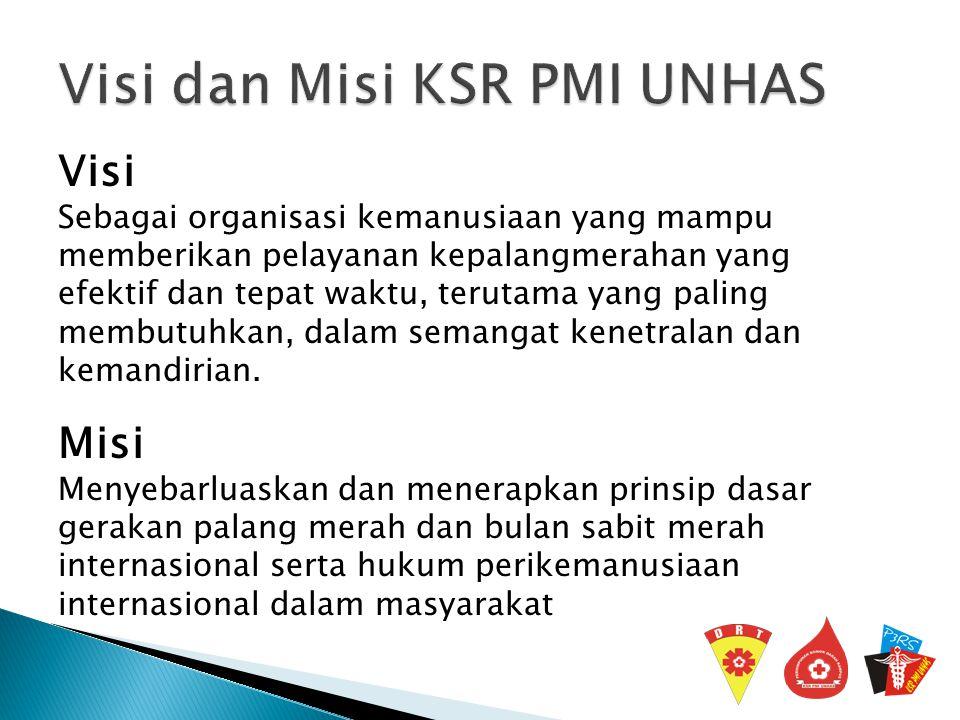 Korps Sukarela Palang Merah Indonesia Universitas Hasanuddin yang didiri1991 berstatus sebagai unit kegiatan mahasiswa kan pada tanggal 17 September 1