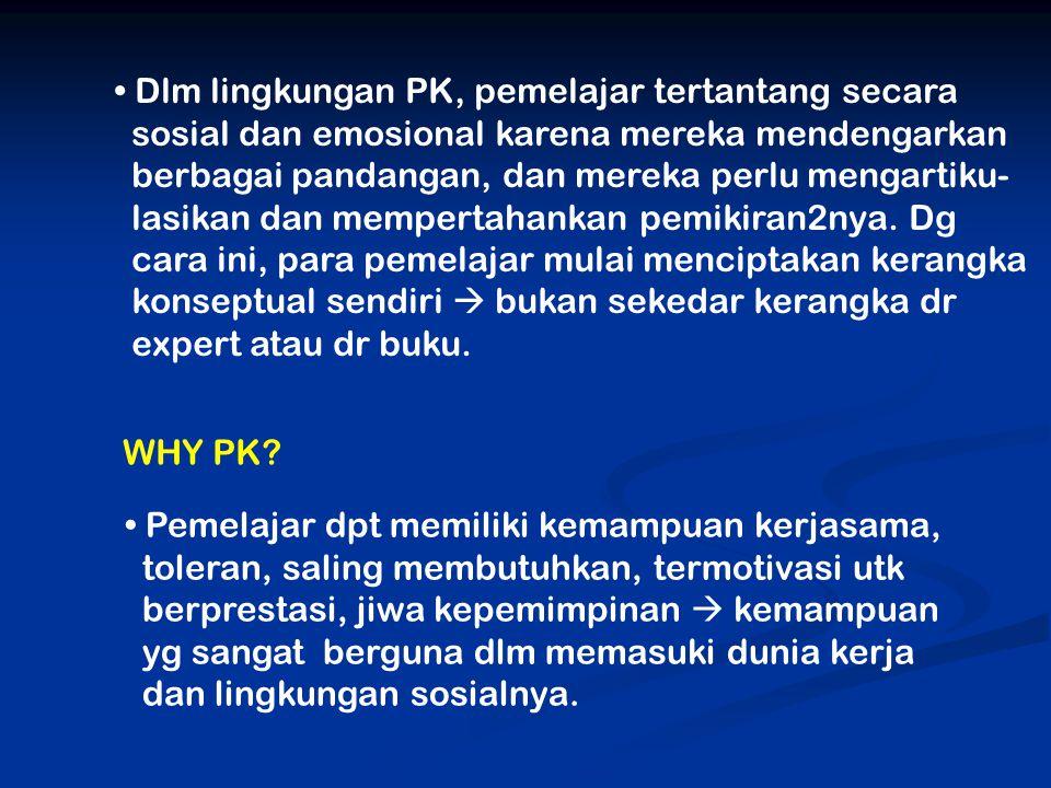 WHY PK.