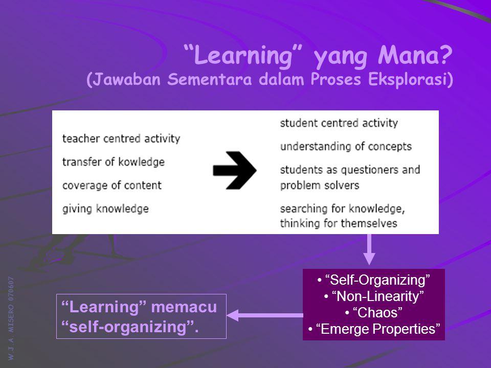 W.J.A. MISERO 070607 Learning yang Mana.