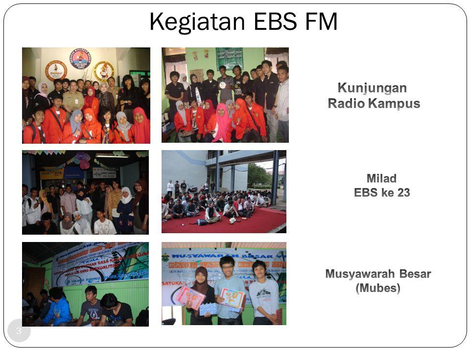 Struktur Pengurus EBS FM Unhas cccc c cc