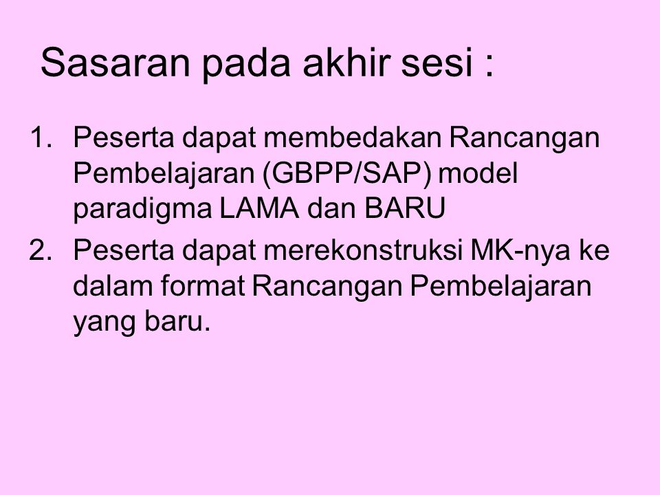 REVITALISASI GBPP/SAP Machmud SYAM Muhammad HASBI