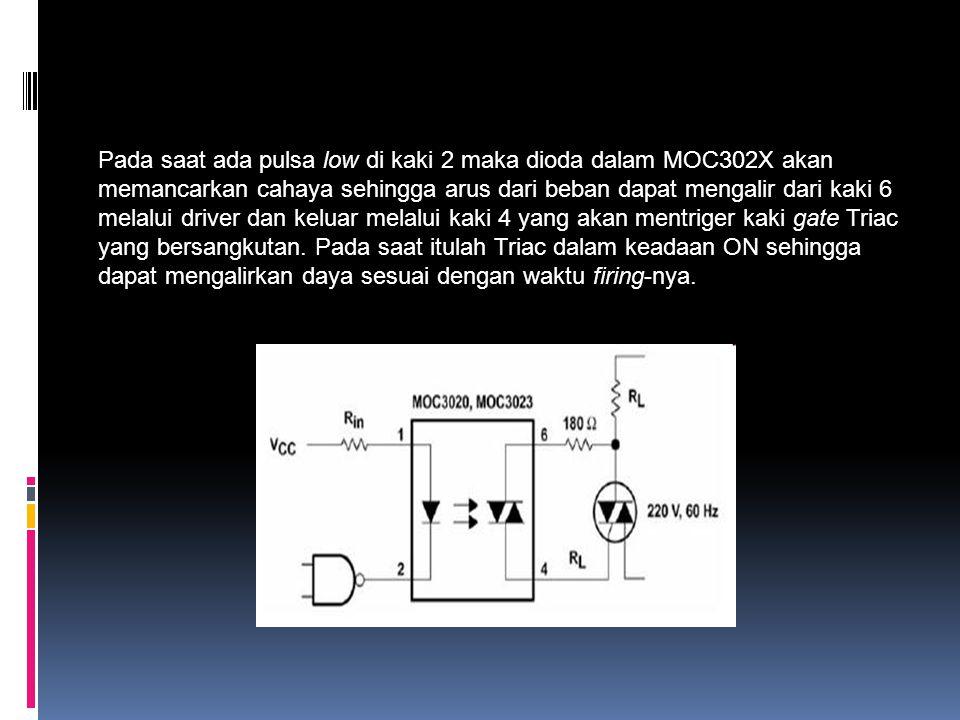 CARA KERJA Pada solid-state relay, switching unitnya menggunakan TRIAC sehingga solid- state relay ini dapat menghasilkan arus baik positif maupun negatif.