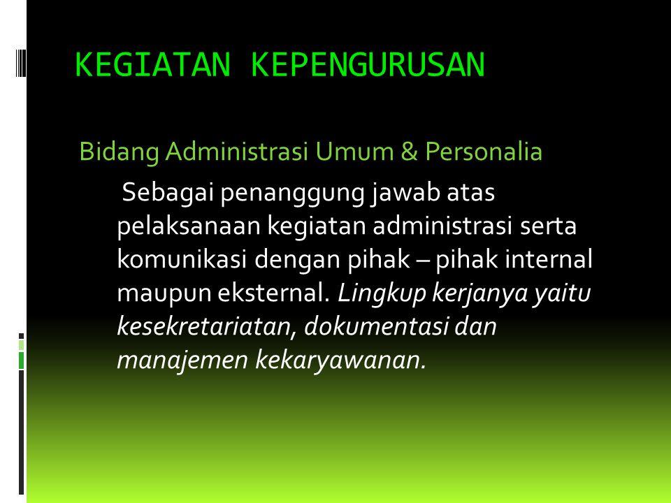 STRUKTUR ORGANISASI KOPERASI MAHASISWA UNIVERSITAS HASANUDDIN tb.2009 RAT ANGGOTA