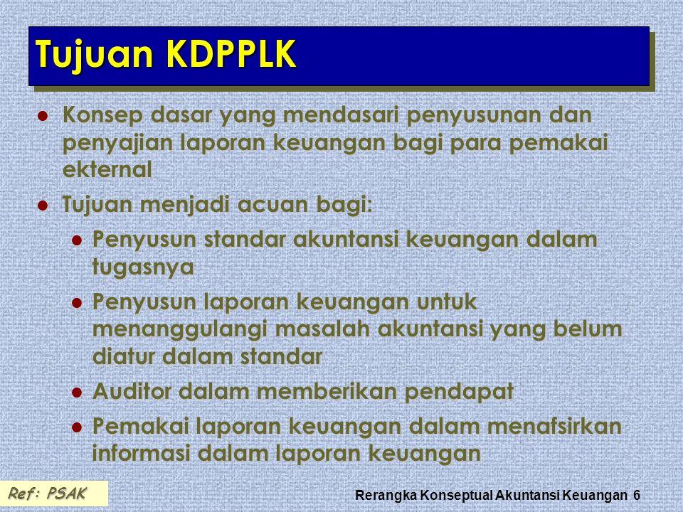 Rerangka Konseptual Akuntansi Keuangan 17 AsumsiAsumsi Akrual.