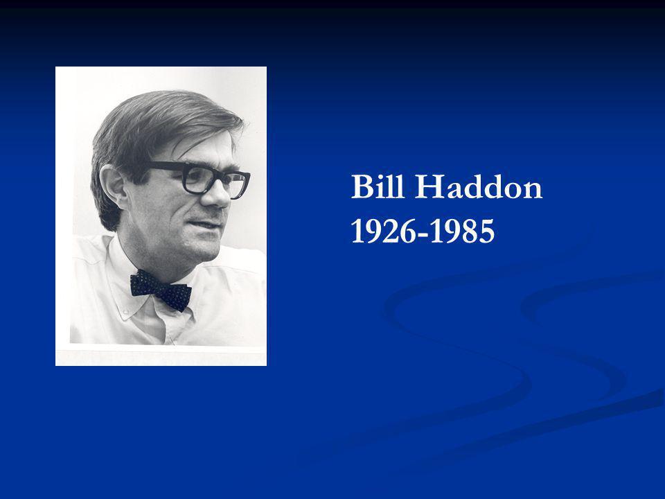 Bill Haddon 1926-1985
